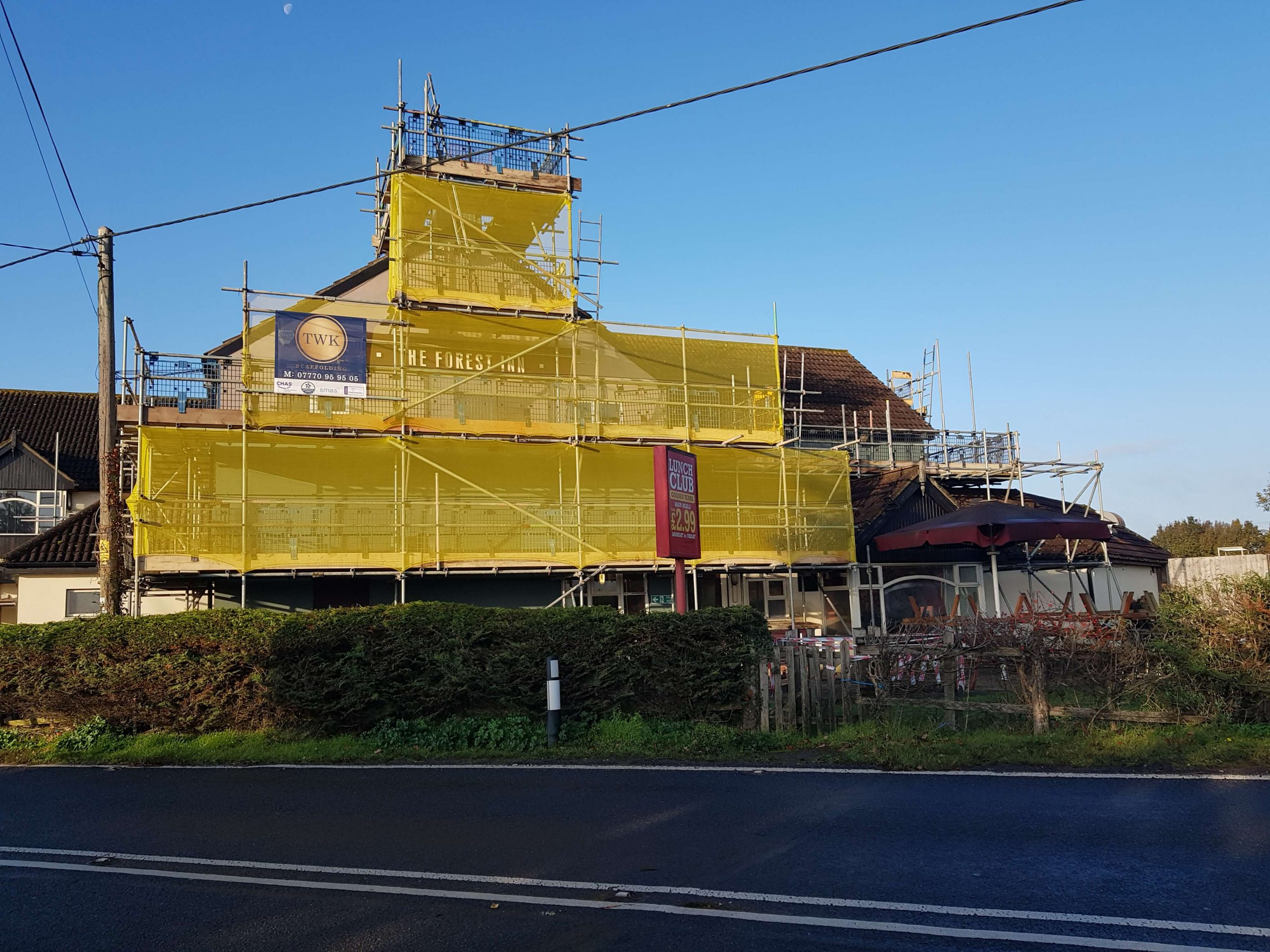 Access Scaffolding Required for Roofing Repairs